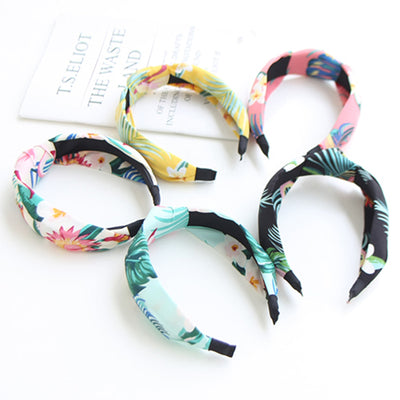 Aloha Floral Hair Bands (Set of 5) JR1017