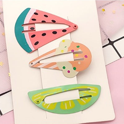Stay Cool Hair Clips Set (Set of 3) JR1035