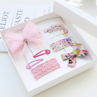Lady Hair Clips Set (Set of 8) JR1038