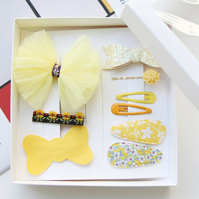 Ylang Hair Clips Set (Set of 9) JR1040