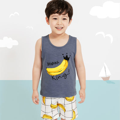 Banana King Singlet Set M1040