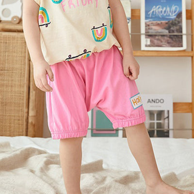 Pink Happy Shorts MN1016