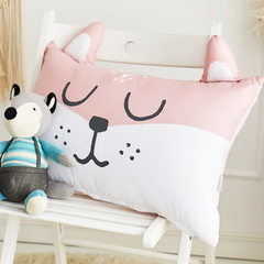 Foxy Microfibre Toddler & Kids Animal Pillow - Minitotz