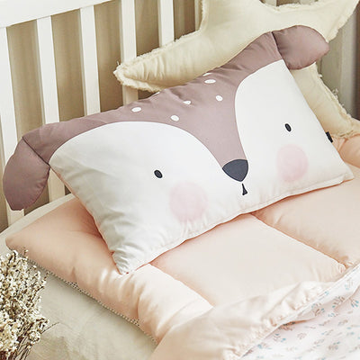 Darly Microfibre Toddler & Kids Animal Pillow - Minitotz