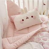 Molang Microfibre Toddler & Kids Animal Pillow - Minitotz