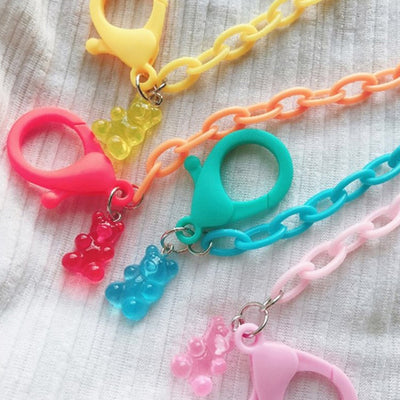 Gummy Bear Mask Chain T1005