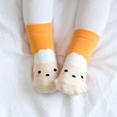 Zoo Sheep Non-Slip Socks V1145