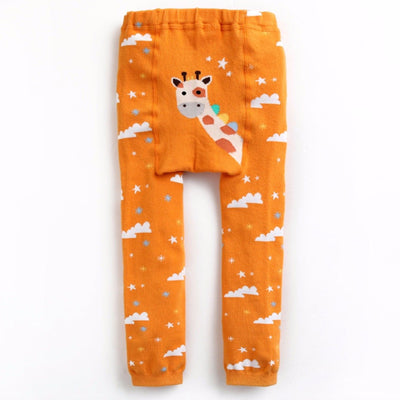 Heaven Giraffe Soft Stretchy Leggings - V1194 - Minitotz