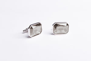 Moonstone Grey Cufflinks