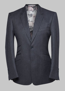 The Vigo Grey Pinstripe