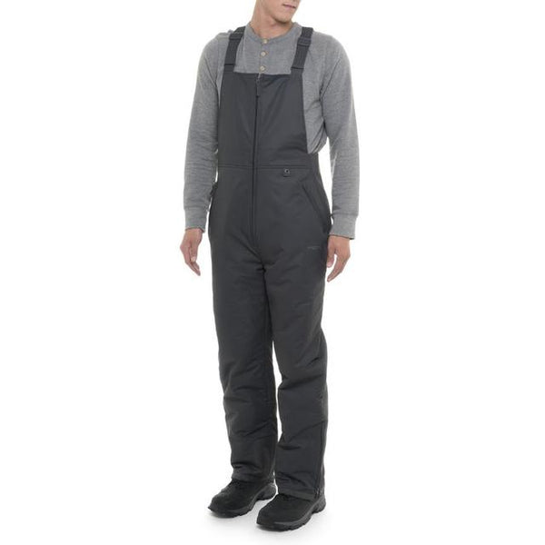 Men's Insulated Charcoal Bib Overalls*Free Shipping