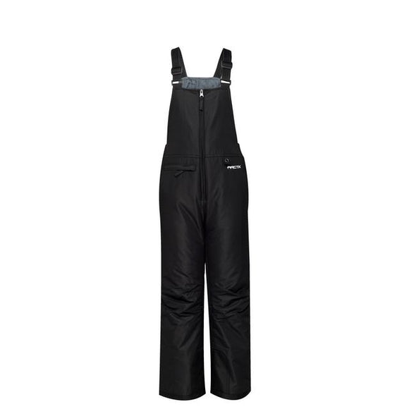 Youth Insulated Black Bib Overalls