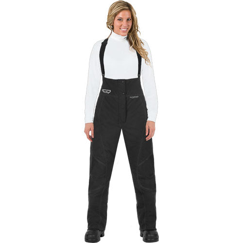 Ladies Choko FloatAid Black Bib Overalls