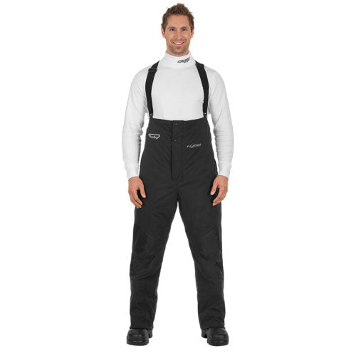 Men's Choko Float Aid Black Bib Overalls