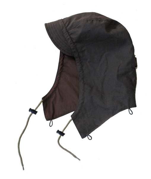 Kakadu Attachable Hood in Brown