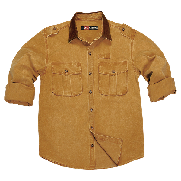 Kakadu Southern Cross Shirt in Mustard