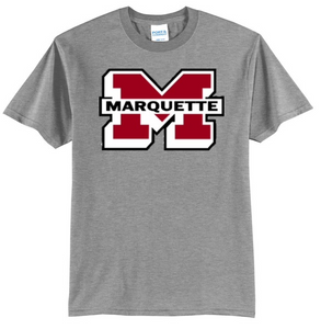 Port & Co. Marquette Redmen Tee
