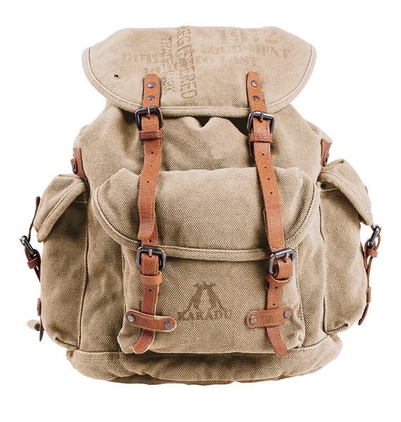 Kakadu Backpack in Bone