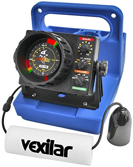 Vexilar FLx-12 SE Genz Pack with 12 Degree Ice-Ducer