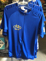 Athletic Knit, Club-Fit Ladies Royal Cycling Jersey