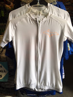 Athletic Knit, Club-Fit Ladies White Cycling Jersey