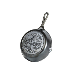 "Wildlife Series 8"" Cast Iron Duck Skillet"