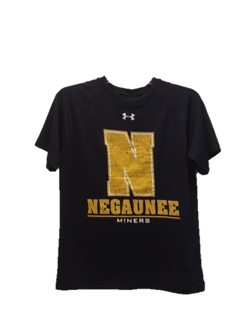 Under Armour Youth Negaunee Miner Locker Tee