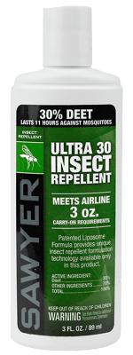 Sawyer Ultra 30 Controlled Release Deet Bug Repellent