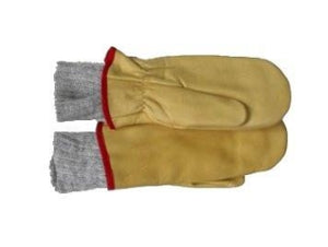 Klondike Sterling Cow Grain Mittens with Removable Liner