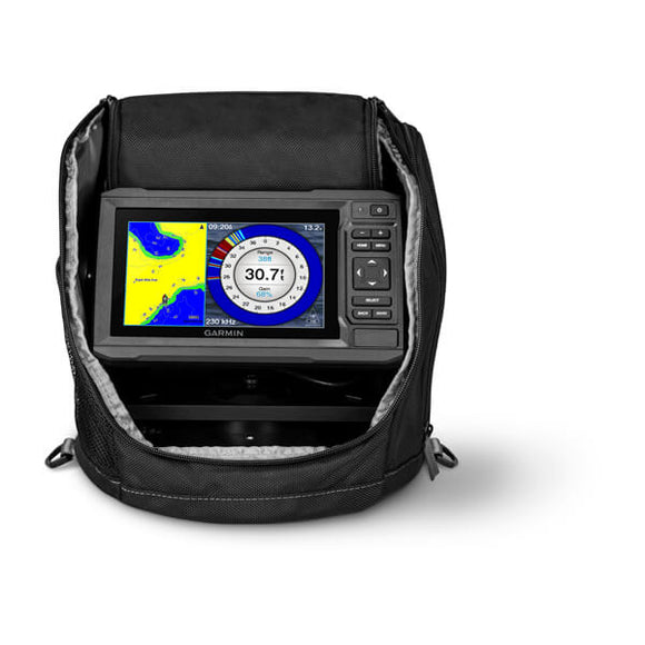 Garmin Echomap UHD 63cv Ice Fishing Bundle
