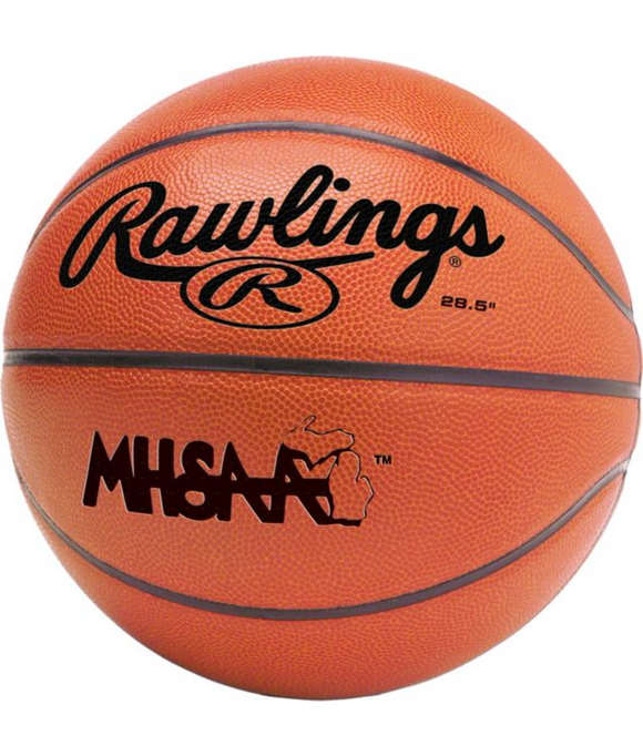 Rawlings Contour Michigan Basketball 28.5