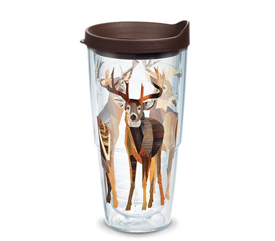 Tervis Woodgrain Deer Wrap 24oz