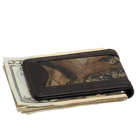Webers Combo Leather Money Clip