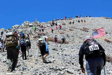 Climb for Heroes - Mt. Baldy