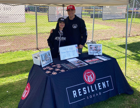 Resilient Squad booth
