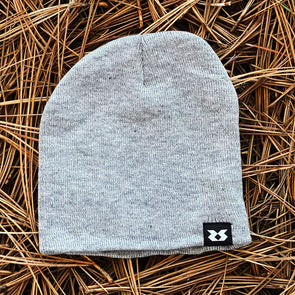 Fall Knit Beanie - Gray