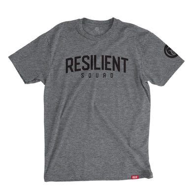 Resilient Squad Athlete Tee - Gray