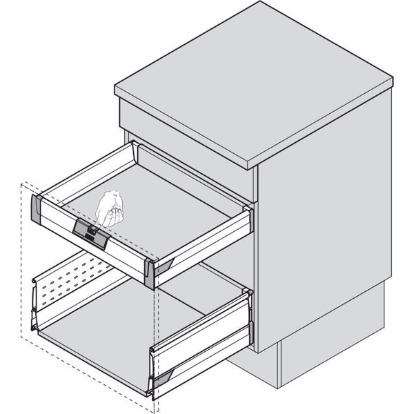 Drawer catch