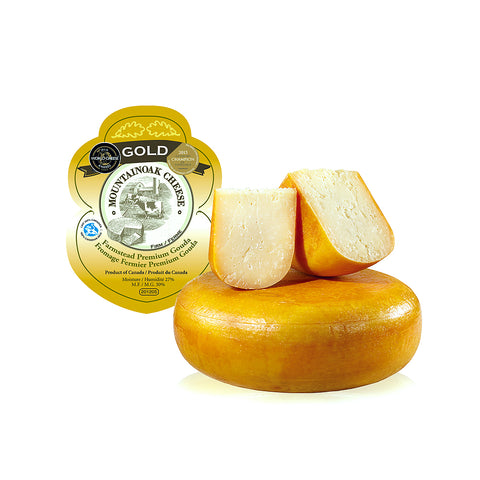 Mountainoak Farmstead Gouda Gold Artisan Cheese