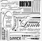 Napkin Enjoy Your Meal 33x33cm