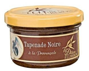 Tapenade Luberon Provencale Black Olives