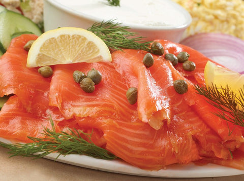 Platter - Smoked Salmon with Artisan Bread & House-Made Cream Cheese