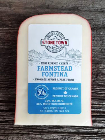 Stonetown Farmstead Fontina Artisan Cheese