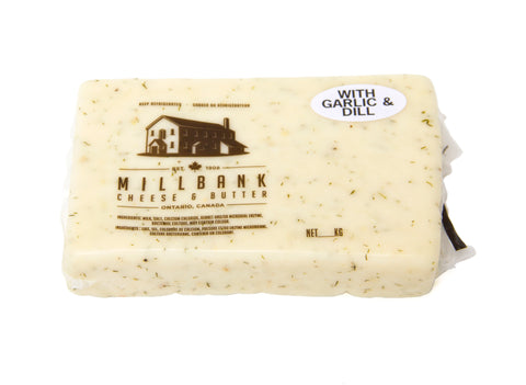 Garlic/Dill Brick Artisan Cheese