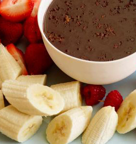 Platter - Chocolate Fondue with Fruits & Berries
