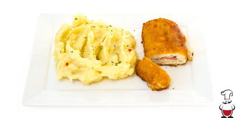 Cordon Bleu with French Mashed Potatoes