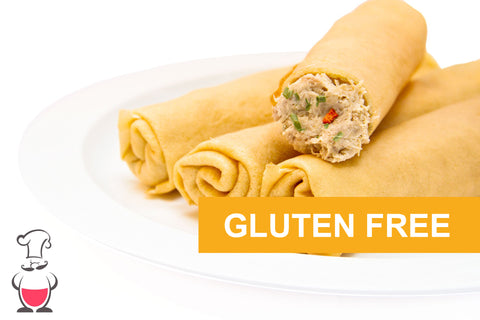 Crêpes with Chicken Julienne - GLUTEN-FREE
