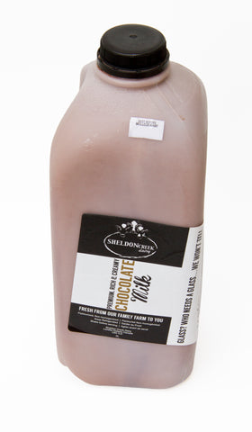 2L Whole Chocolate Milk from grass fed cows