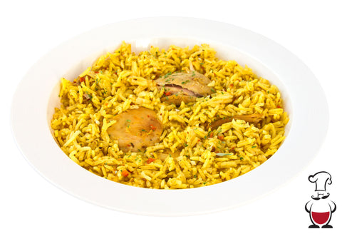 Rice Pilaf with Chicken