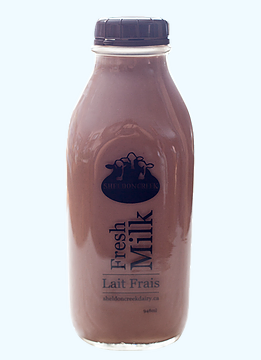 1Qt Whole Chocolate Milk from grass fed cows